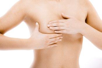 Tastuntersuchung der Brust